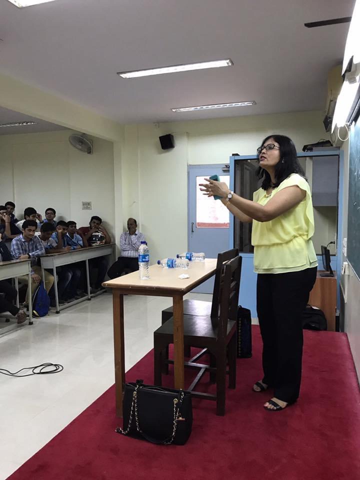 Speaking at RD National Collage, Mumbai