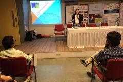 Speaking at eChai event at Ahemdabad