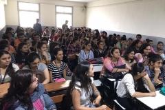 Speaking at Collage in Kandivali, Mumbai